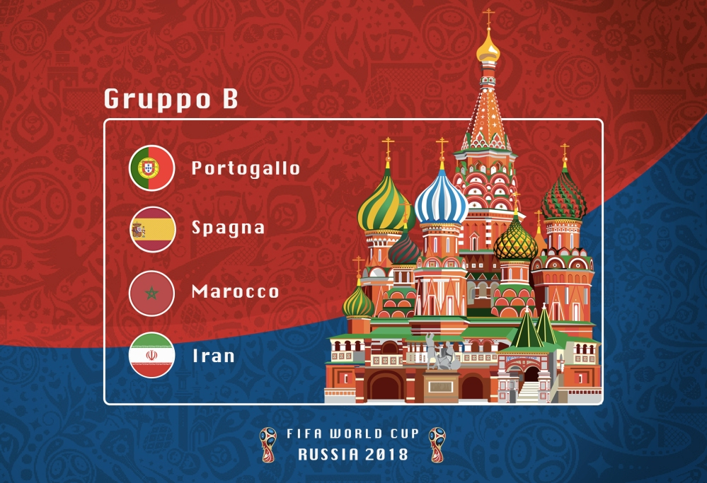 Groups B Russia 2018(1)