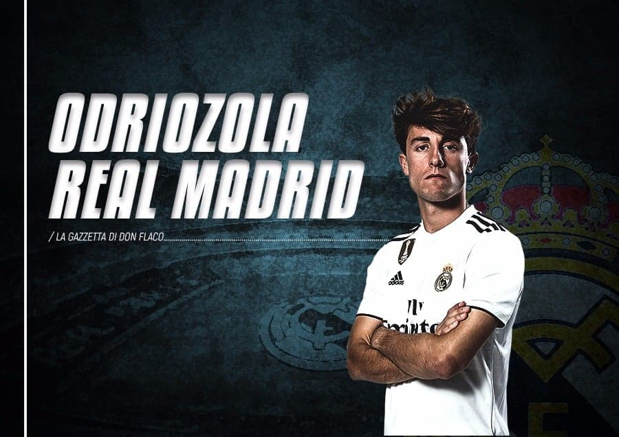 Seconda Maglia Real Madrid Odriozola